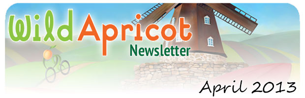 Wild Apricot Newsletter April 2013