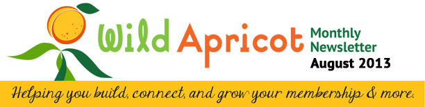 Wild Apricot Monthly Newsletter