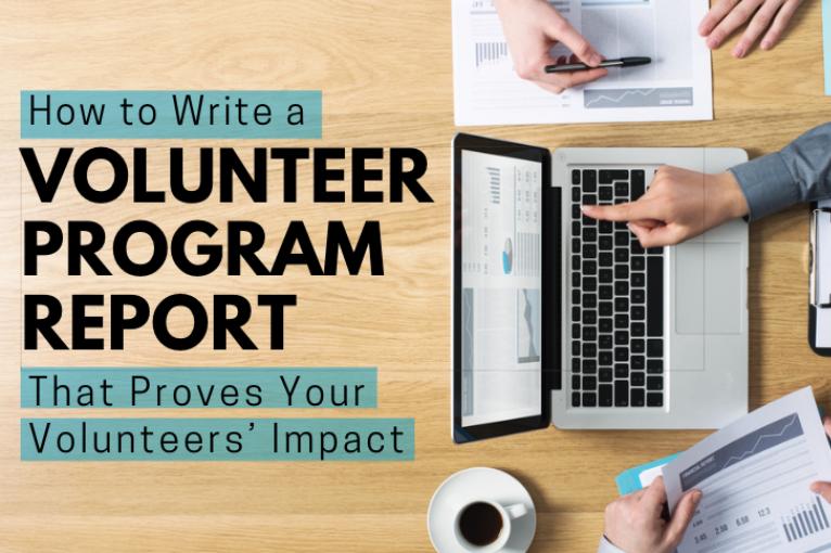 Volunteer report blog
