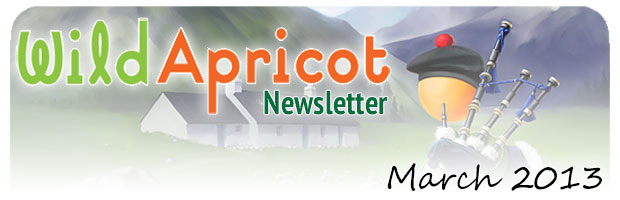Wild Apricot Newsletter March 2013