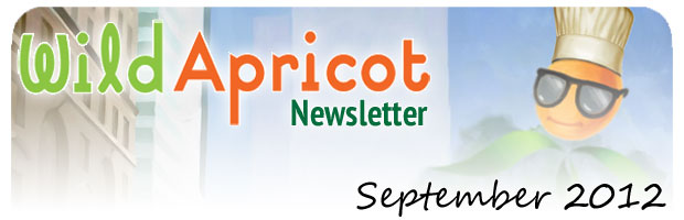 Wild Apricot Newsletter September 2012