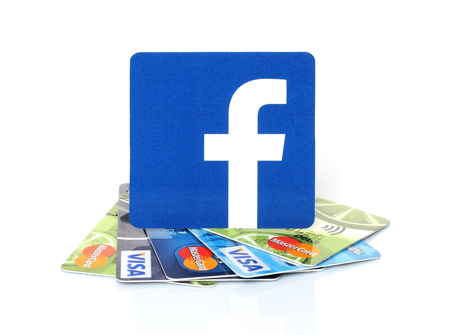 Facebook on credit cards