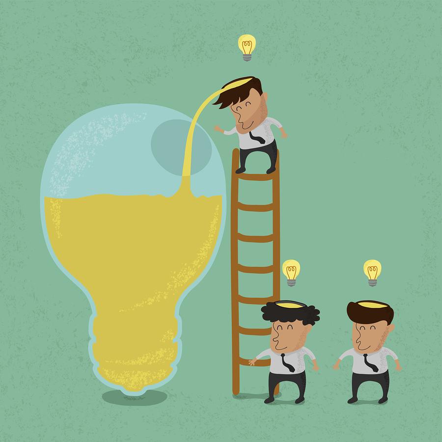 Business Man Brainstorming Image - Big Stock