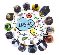 People brainstorming